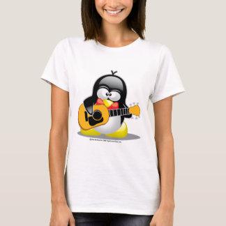 T-shirt Pingouin de guitare