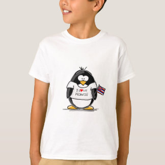 T-shirt Pingouin d'Hawaï