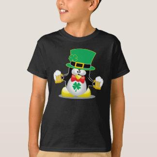 T-shirt Pingouin du jour de St Patrick