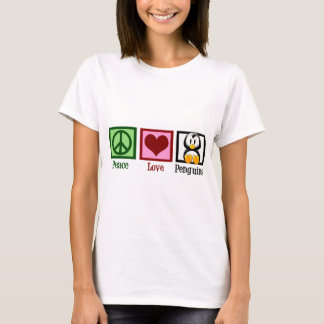 T-shirt Pingouins d'amour de paix