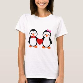 T-shirt Pingouins dans l'amour