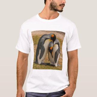 T-shirt Pingouins de roi caressant, les Malouines