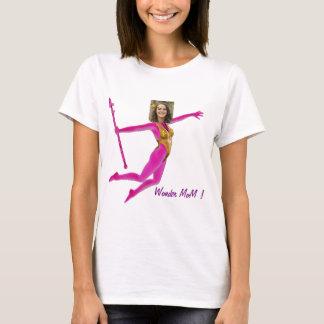 T-shirt Pink Fushia Wonder Woman, Fairy Wand -