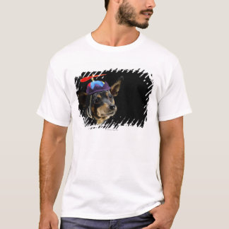T-shirt Pinscher miniature dans le costume