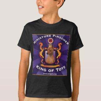 T-shirt Pinscher miniature, roi des jouets