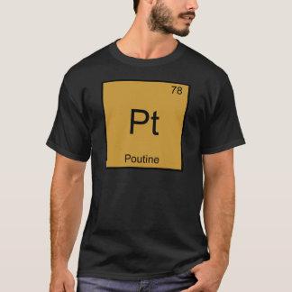 T-shirt Pinte - Pièce en t drôle de symbole d'élément de