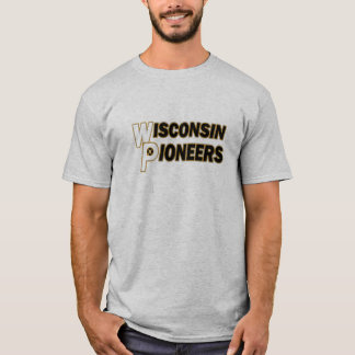T-shirt Pionniers du Wisconsin