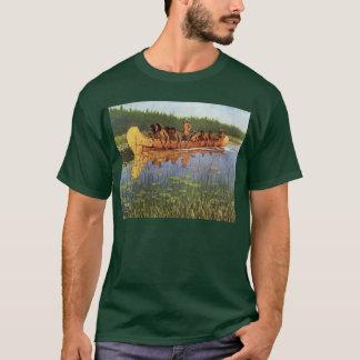 T-shirt Pionniers vintages, grands explorateurs par