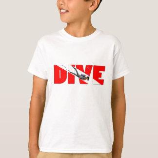 T-shirt PIQUÉ de plongée à l'air