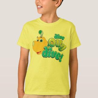 T-shirt Piqué d'Olly de piqué !