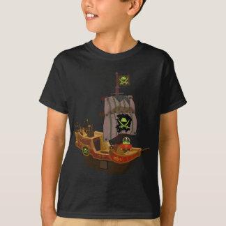 T-shirt Pirate androïde sur un bateau