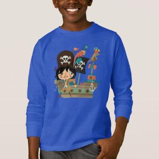 T-shirt Pirate et bateau de pirate