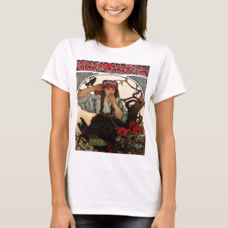 T-shirt PirateGirlFrenchVintage