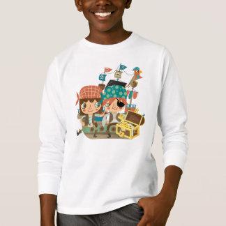 T-shirt Pirates avec le trésor