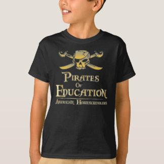 T-shirt Pirates d'éducation