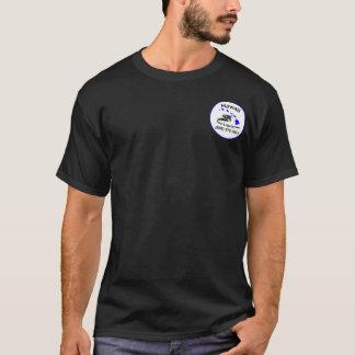T-shirt Piscine d'Hawaï et pièce en t d'obscurité de spa