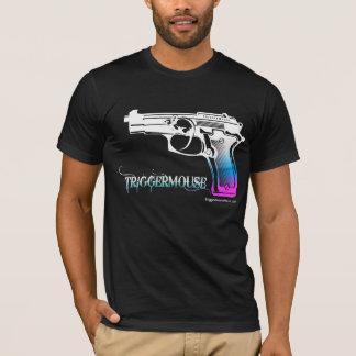 T-shirt Pistolet de TriggerMouse inversé