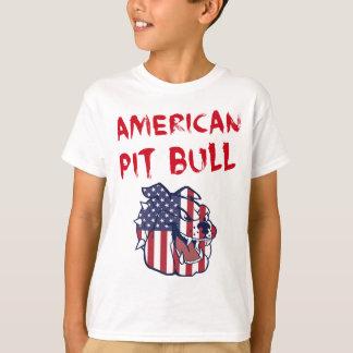T-shirt Pitbull américain