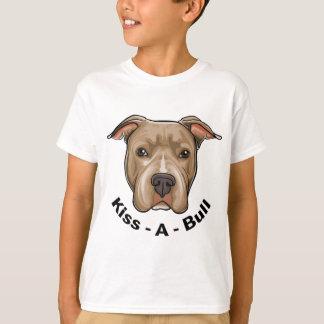 T-shirt Pitbull de Baiser-UN-Taureau