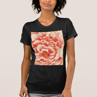 T-shirt Pivoines roses vintages