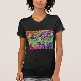 T-shirt PixDezines Van Gogh iris/st. remy