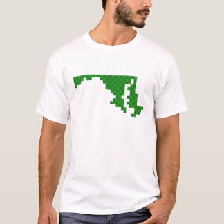 T-shirt Pixel le Maryland