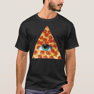 T-shirt Pizza d'Illuminati