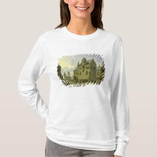 T-shirt Place avec des chiffres et le commerce de paysans