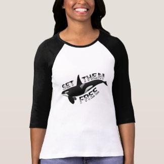 T-shirt Placez-les librement orque