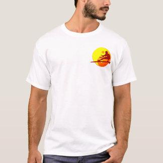 T-shirt Plage de Bondi de surfer de zen (rayon de soleil)