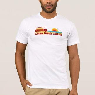 T-shirt Plage de cacao