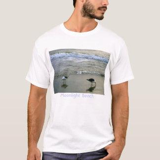 T-shirt Plage de clair de lune