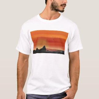 T-shirt Plage de coucher du soleil