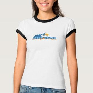 T-shirt Plage de folie