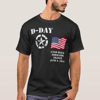 T-shirt Plage de l'Utah, Normandie, France, le 6 juin 1944