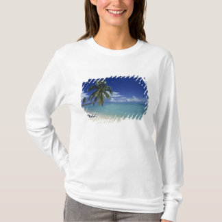 T-shirt Plage de Matira sur l'île de Bora Bora,