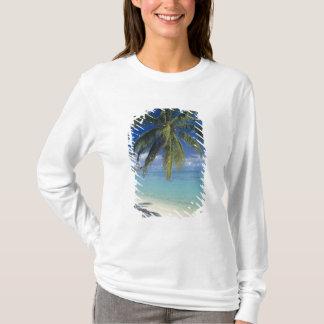 T-shirt Plage de Matira sur l'île de Bora Bora, société