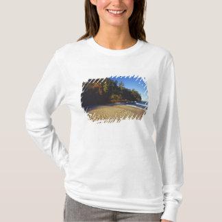 T-shirt Plage de mineurs aux roches décrites nationales