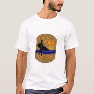 T-shirt Plage de Pacifique du classique 1969 de SOCAL