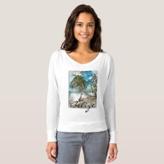 T-shirt Plage en ambre gris Caye Belize