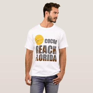 T-SHIRT PLAGE LA FLORIDE DE CACAO