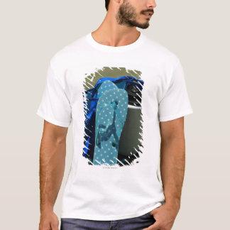 T-shirt plage, sable