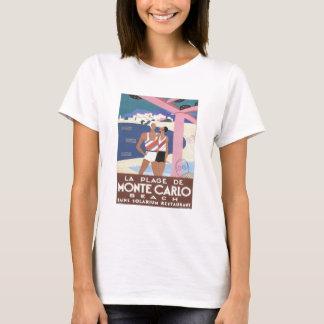 T-shirt Plage vintage de Monte Carlo