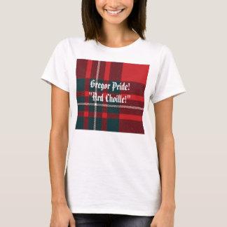 "T-shirt Plaid de MacGregor, fierté de Gregor ! ""Ard"