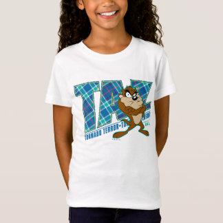 T-Shirt Plaid de terreur de tornade de TAZ™