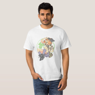 T-shirt Plaine de Troublesmaker (shamrock)