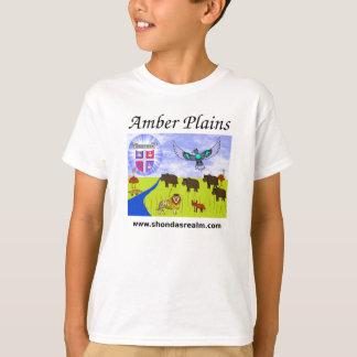 T-shirt Plaines ambres