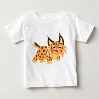 T-shirt plaisant mignon de bébé de chat sauvage de