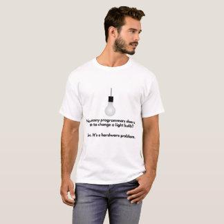 T-shirt Plaisanterie d'ampoule