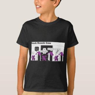 T-shirt Plaisanterie de coup de coup de vache
